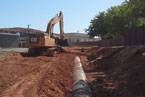 City Creek Pipeline Construction