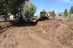 Diamond Valley Elementary Bus Lane - JP Excavating