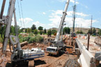 Mathis Bridge Expansion - JP Excavating