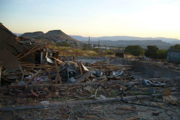 Red Hills Parkway Demolition