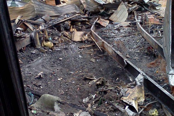 Veyo Fire Demolition